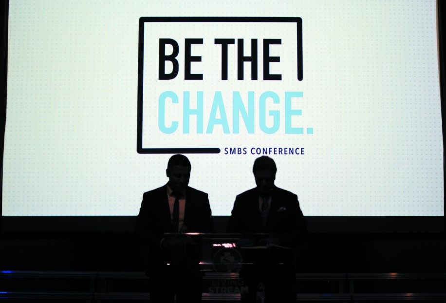 "The annual ""Be The Change"" conference"